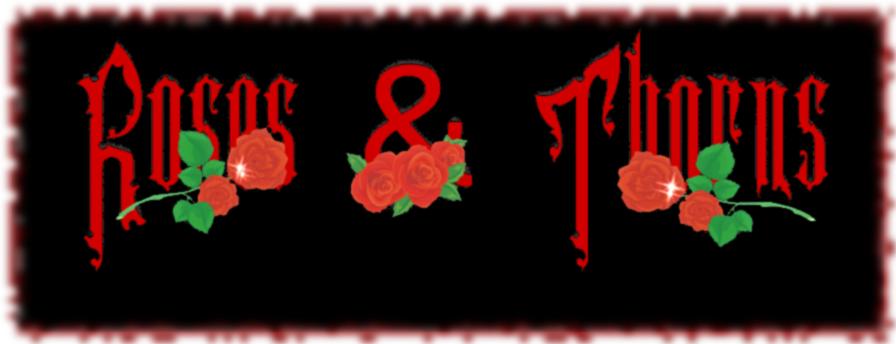 Roses & Thorns Dark Poetry Forum